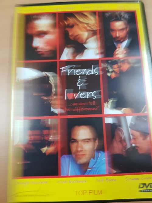 Dvd Friends and Lovers, drama