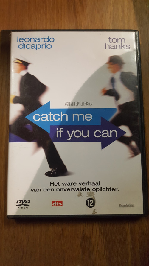 dvd catch me if you can