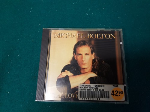 Cd Michael Bolton met de titel: Time, Love and Tenderness