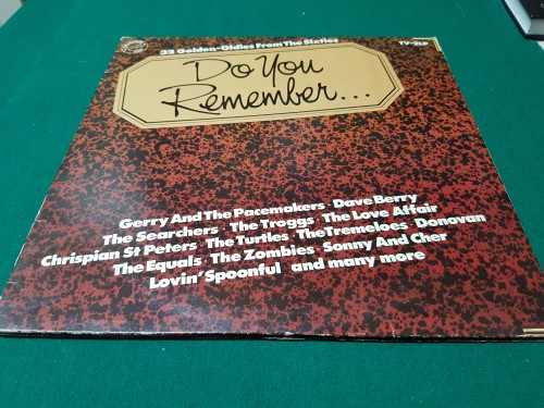 Lp, dubbel lp, Do you Remember, 32 golden-oldies from the si