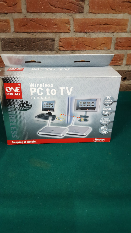 pc to tv zender wireless on for all