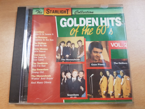 cd golden hits of the 60