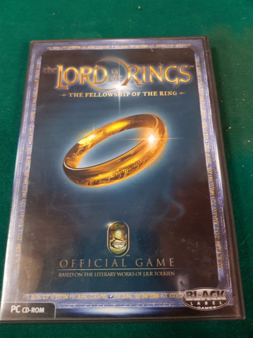 pc cd -room lord of the rings