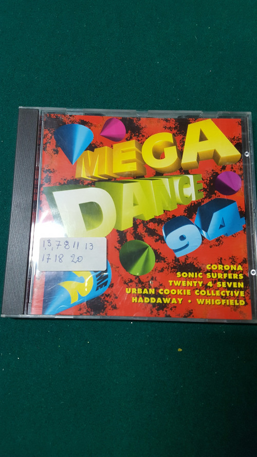 cd mega dance 94