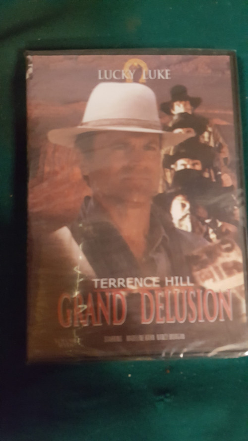 dvd lucky luke, terrence hill, grand delusion
