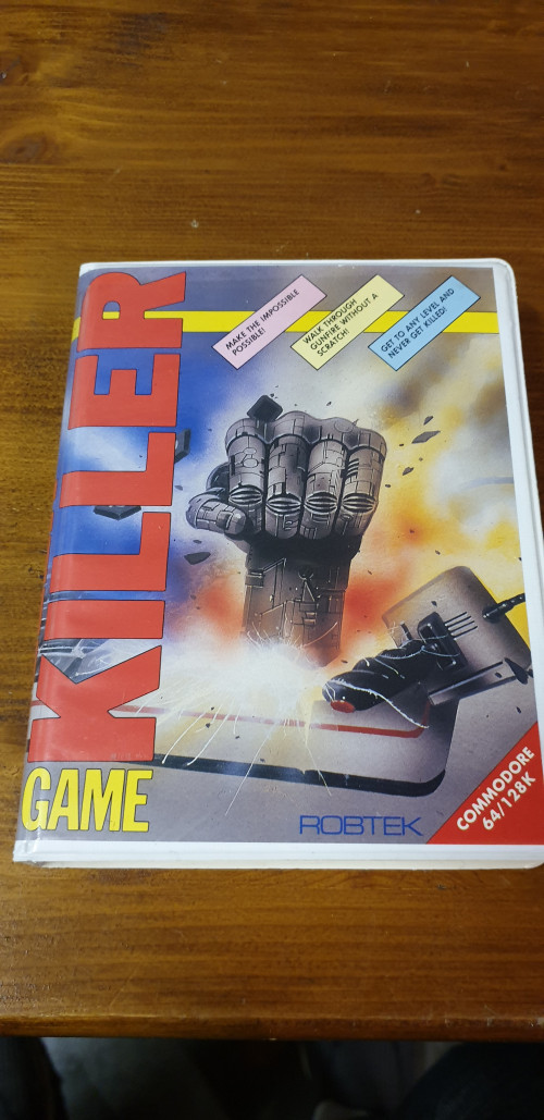 commodore 64 killer game