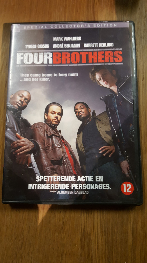 dvd four brothers, special collecters