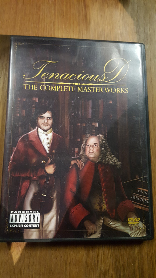dvd , tenacious, the complete master works