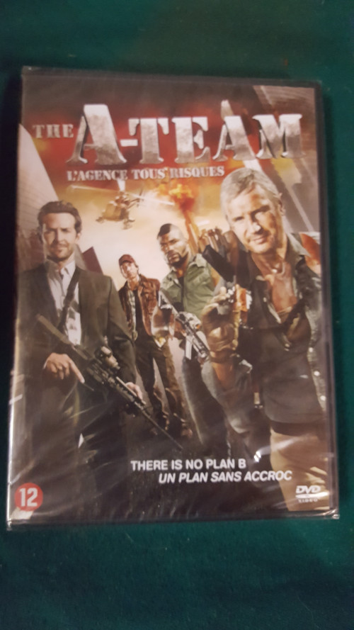 dvd , the a- team, there is no plan b, nieuw
