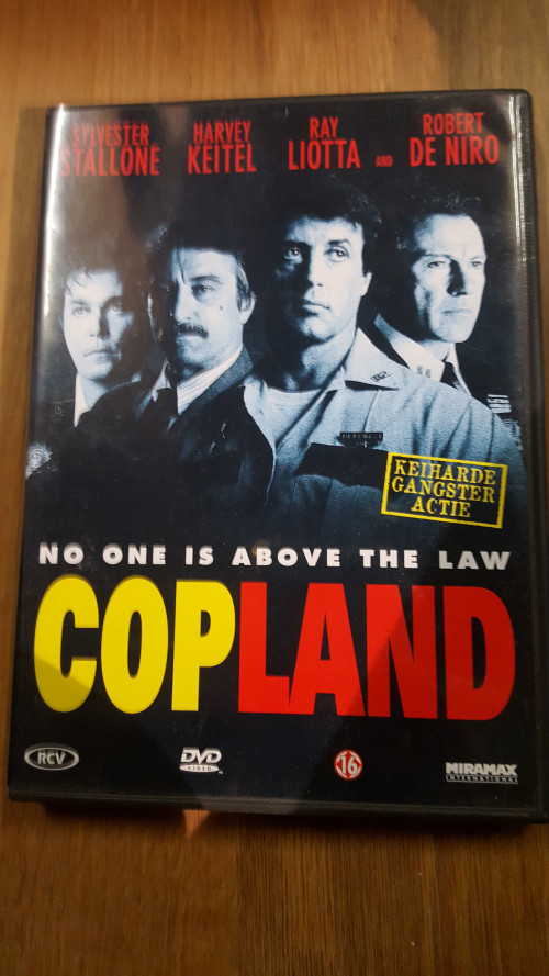 dvd copland, no one is above the law