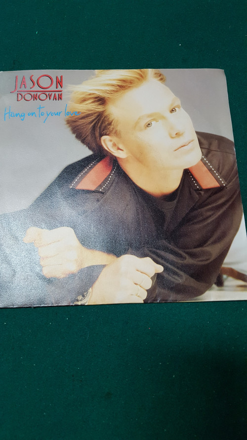 single  jason donovan, hang on to your love