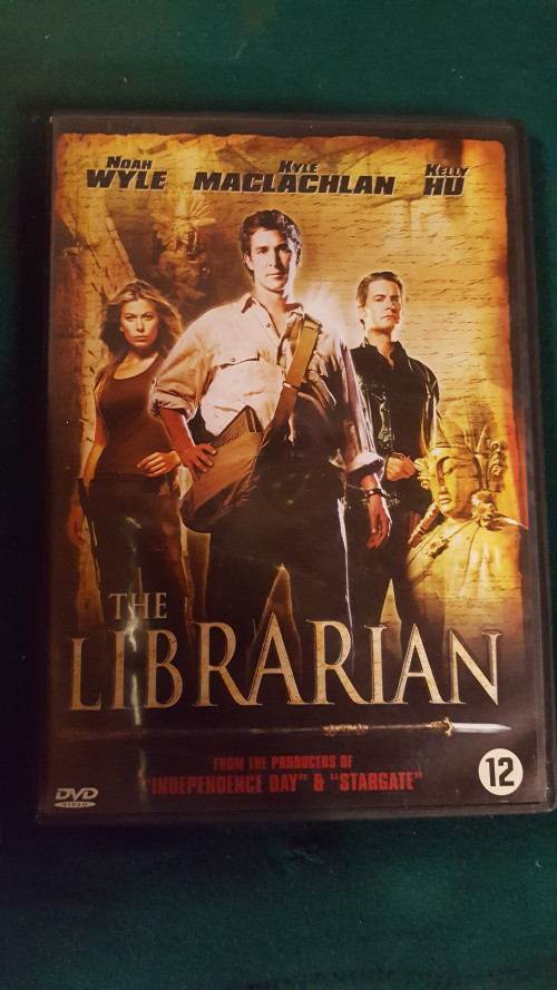 dvd the librarian