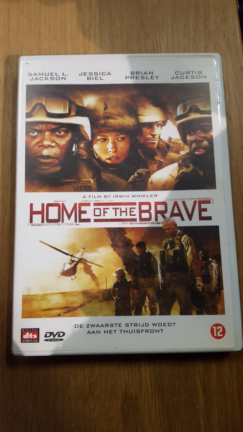 dvd home of the brave